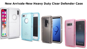 New Heavy Duty Clear Defender Case