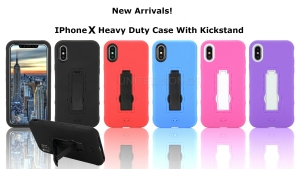 Heavy Duty Case With Kickstand