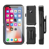 New Heavy Duty Defender Case With Screen Protector & Clip