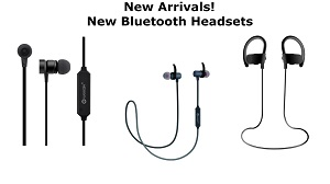 New Bluetooth Headsets