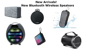 New Bluetooth Speakers