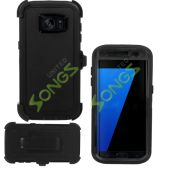 Heavy Duty Case With Screen Protector & Clip