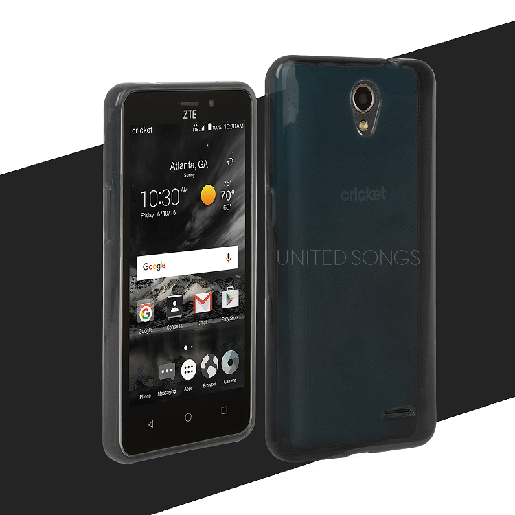 pretty nice 46309 84a99 ZTE Sonata 3 TPU(Gel) Case Black