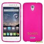 Alcatel OneTouch POP Astro 5042T TPU(Gel) Case Pink