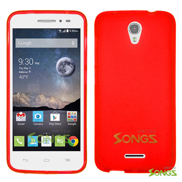 Alcatel OneTouch POP Astro 5042T TPU(Gel) Case Red