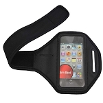 iPhone 4 4S Armband Black