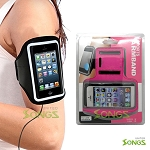 iPhone 5S 5C Water Proof Armband Pink