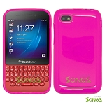 BlackBerry Q5 TPU(Gel) Case Pink..