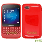 BlackBerry Q5 TPU(Gel) Case Red