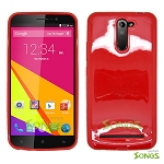 BLU Studio 6.0 LTE TPU(Gel) Case Red
