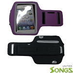 iPhone 5S 5C Water Proof Armband Purple