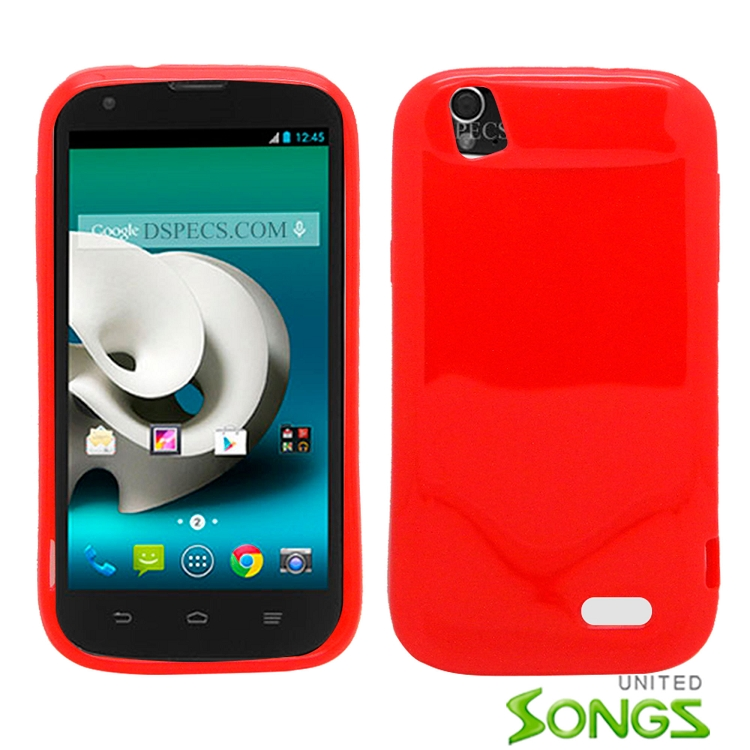 ZTE  GRANDX/Z777 TPU(Gel) Case Red