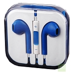 iPhone 6/SE/5/4 Series Earphone with MIC and Volume Control Blue