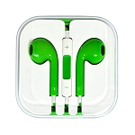 iPhone 6/SE/5/4 Series Earphone with MIC and Volume Control Green