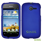 Huawei Ascend Y M866 Hard Regular Case Blue