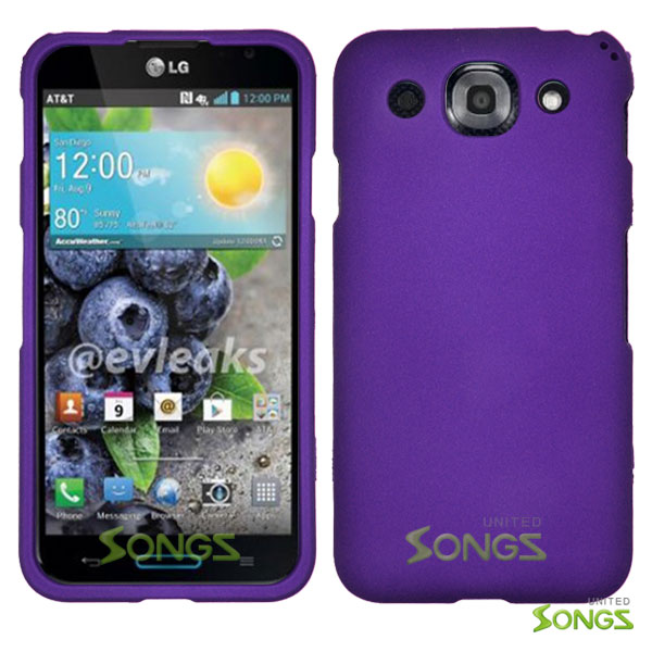 LG Optimus G Pro E980 (AT&T) Hard Regular Case Purple