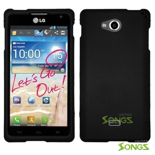 LG Spirit MS870 Hard Normal Case Black