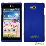 LG Spirit MS870 Hard Normal Case Blue