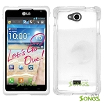 LG Spirit MS870 Hard Normal Case Clear