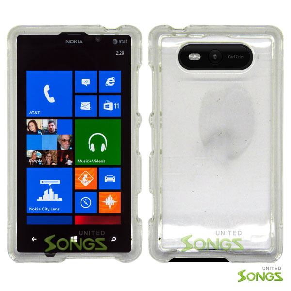 Nokia Lumia 820 Hard Regular Case Clear
