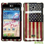 LG Spirit MS870 Hard Design#11 American Flag