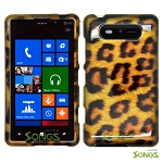 Nokia Lumia 820 Hard Design#1 Yellow Cheetah
