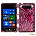 Nokia Lumia 820 Hard Design#3 Pink Cheetah
