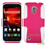 ZTE Source N9511 Mesh Hybrid Case High Pink/White
