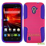 ZTE Source N9511 Mesh Hybrid Case High Pink/Purple