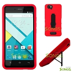 Blu Studio Energy Heavy Duty Case with Kickstand Red/Black
