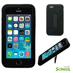 iPhone 6 Heavy Duty Case with Kickstand Black/Black