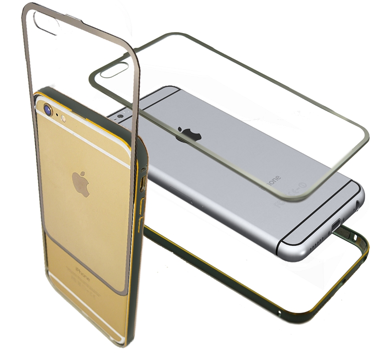 iPhone 6S Plus/6 Plus Metal Bumper With Full Protection Gury Case