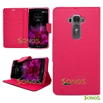 LG G Flex2 Wallet Case Hot Pink