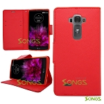 LG G Flex2 Wallet Case Red