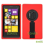 Nokia Lumia 1020 Heavy Duty Case with Kickstand Red/Black