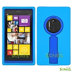 Nokia Lumia 1020 Heavy Duty Case with Kickstand Ocean Blue/Blue