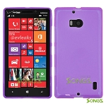 Nokia Lumia 929(Verizon) TPU(Gel) Case Purple