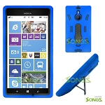 Nokia Lumia 1520 (AT&T) Heavy Duty Case with Kickstand Blue/Black