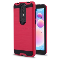Alcatel 3V 2019 Hybrid Case Pink