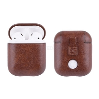 AirPods New APA Unique Style AirPods Case Dark Brown