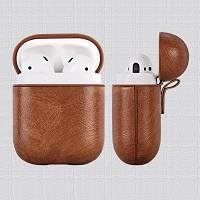 AirPods New APA Unique Style AirPods Case Light Brown