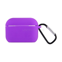 AirPods Pro New Unique Style Case With Strap Cable Purple