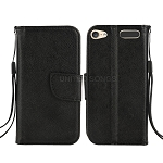 iTouch 5 Wallet Case Black