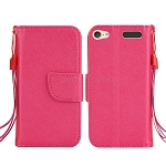 iTouch 5 Wallet Case Hot Pink