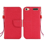 iTouch 5 Wallet Case Red