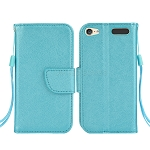 iTouch 5 Wallet Case Light Blue