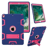iPad Air 2019/iPad Pro 10.5 Inch Newly Enhanced Heavy Duty Case With Kickstand Dark Blue/Pink
