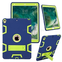 iPad Air 2019/iPad Pro 10.5 Inch Newly Enhanced Heavy Duty Case With Kickstand Dark Blue/Green