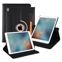iPad 10.2 inch(2019) New Leather Case With Stylus Pen Slot Black
