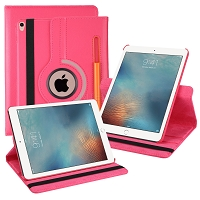 iPad 10.2 inch(2019) New Leather Case With Stylus Pen Slot Pink